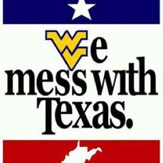 WVU: We mess with Texas!   West virginia, Tech company logos, Company logo