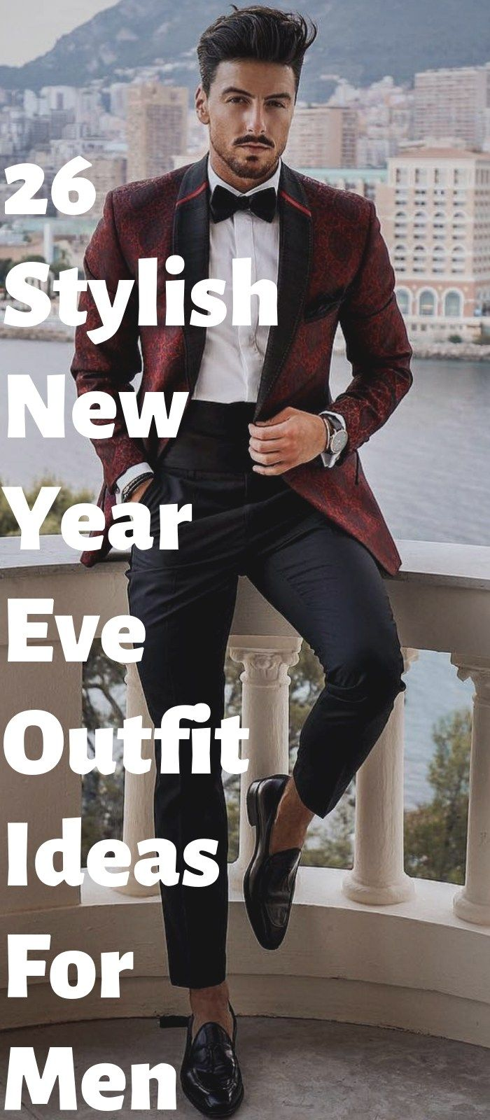 26 Trendy Men's New Year Outfit Ideas For Inspiration
