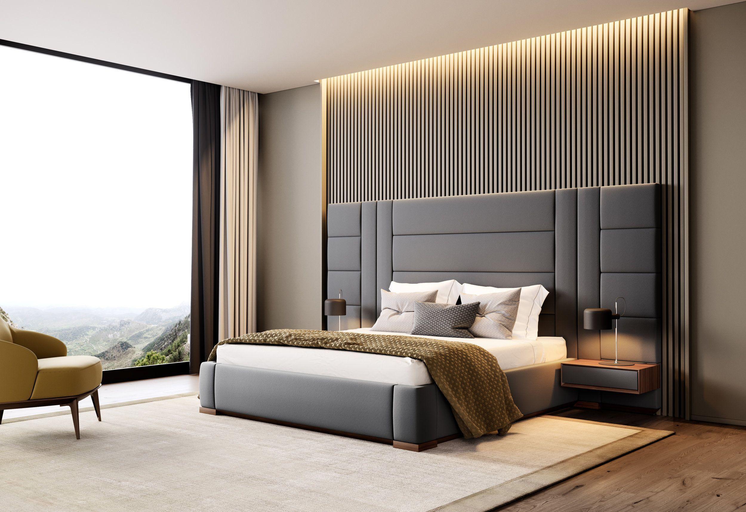 Amazing Bedroom Design Ideas Simple Modern Minimalist Modern Bedroom Design Bedroom Interior Luxurious Bedrooms