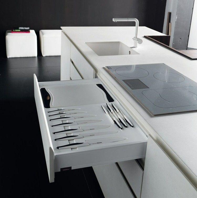 #Küche 6 Moderne Einbauküchen Mit Kochinsel Von Toncelli #6 #moderne # Einbauküchen #