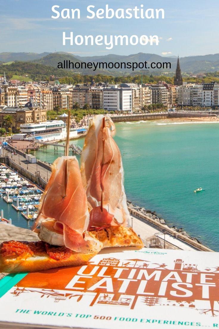 San Sebastian Spain Best Honeymoon Destinations In The