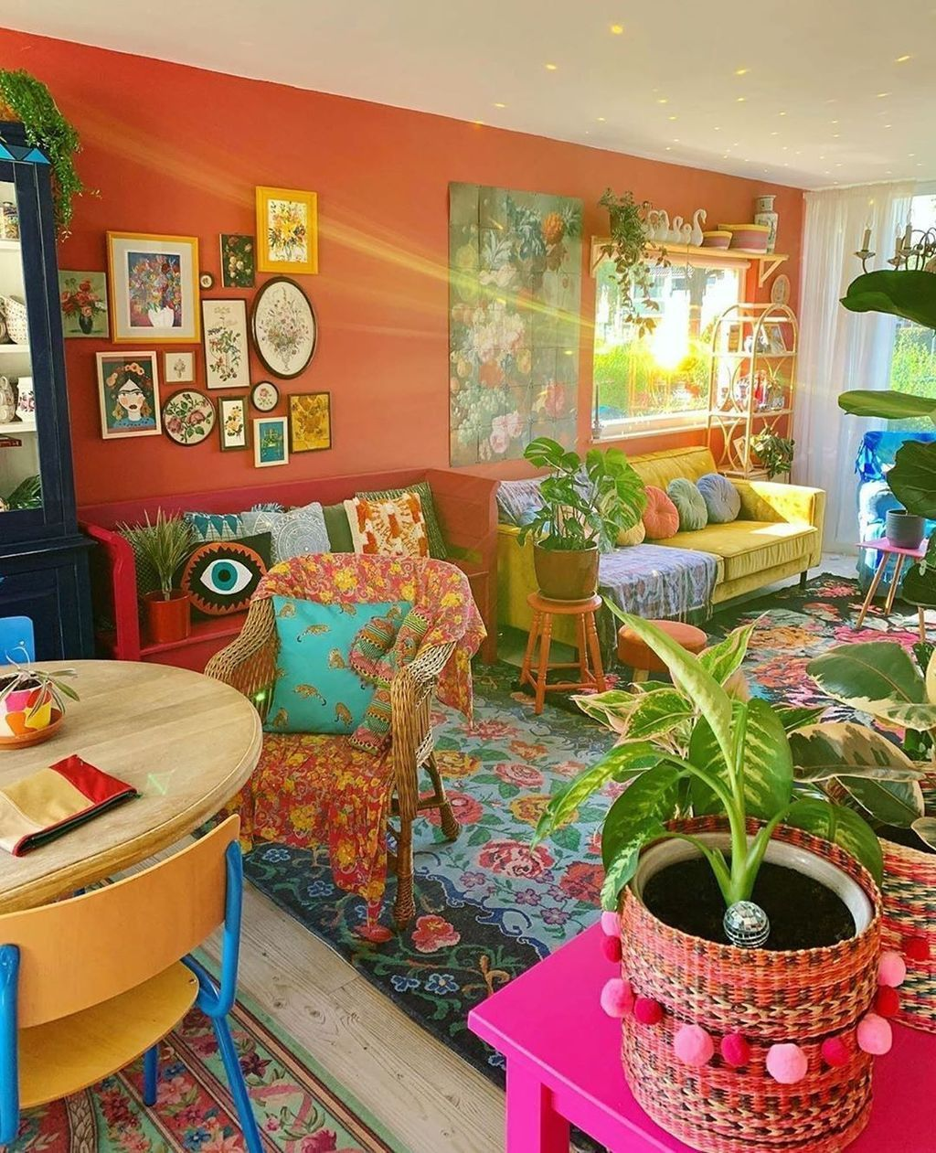 Pin On Bohemian Decoration Gypsy living room decor