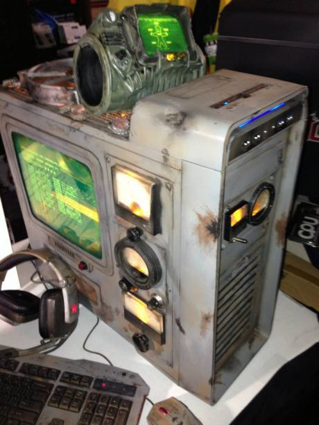 Cool modded Fallout 3 computer case | Gadgets | Computer