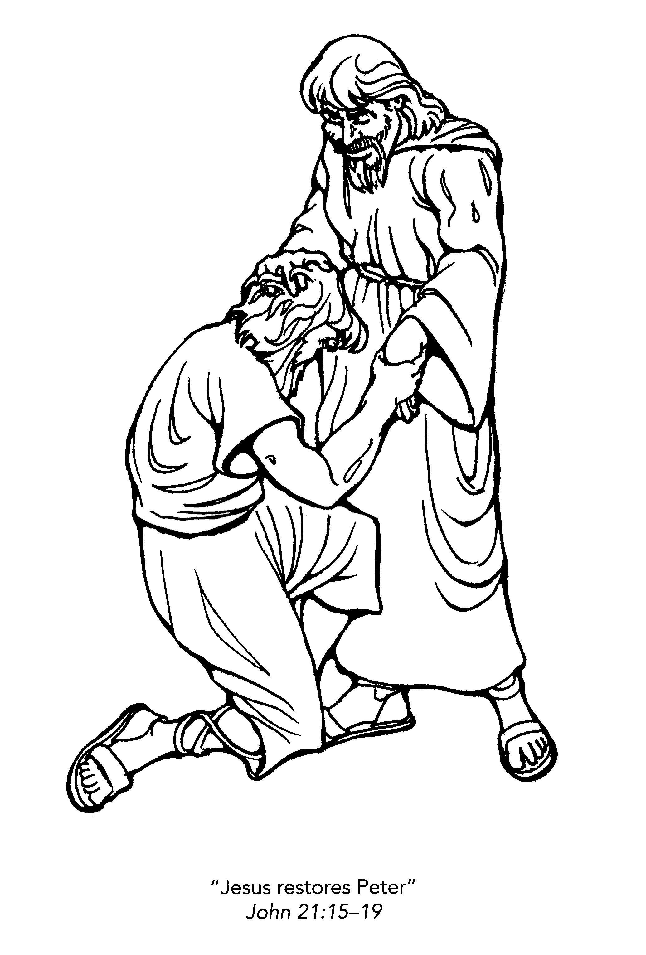 Free Christian Coloring Pages for Kids, Children, and