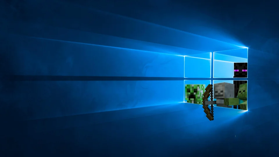 I Made This Windows 10 Wallpaper What Do You Think Minecraft In 2021 Wallpaper Windows 10 Minecraft Wallpaper Wallpaper