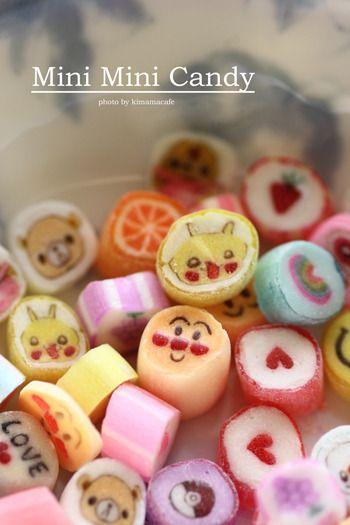 キャラ金太郎飴 アクセサリー 可愛いお菓子 お菓子 飴