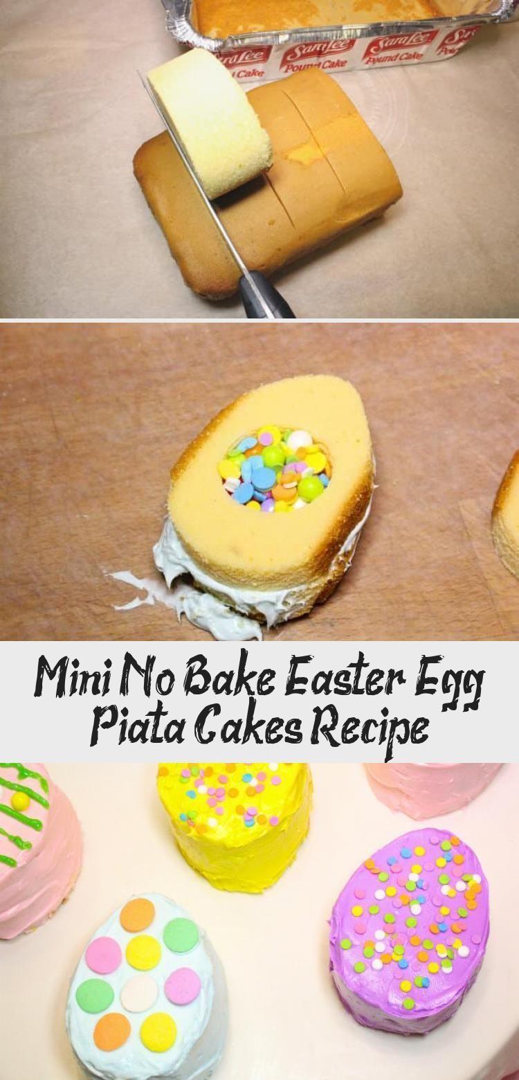 Photo of Mini No Bake Osterei Pinata Kuchen Rezept mit Sara Lee Pound Cake von V … –  M…