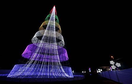 Картинки по запросу самые красивые новогодние елки в мире
