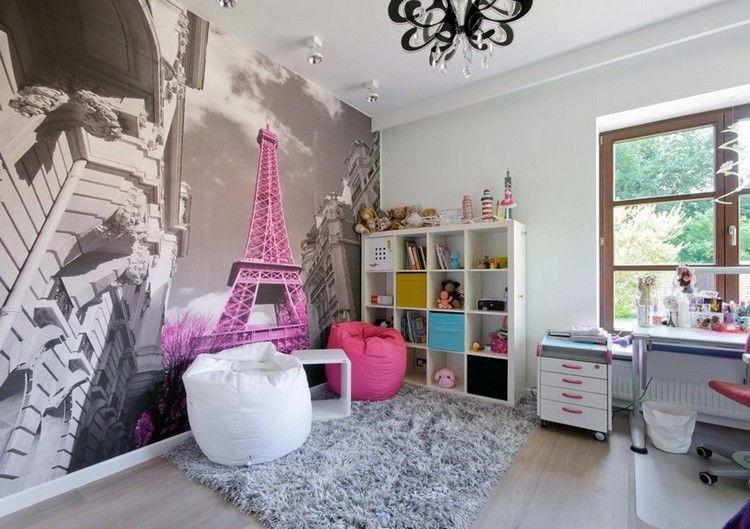 Kinderzimmer Wandgestaltung 50 Ideen Mit Farbe Und Tapete Fototapete Kinderzimmer Madchen Tapete Und Kinder Zimmer