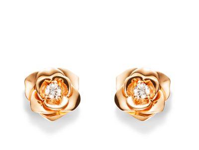 Boucles d'oreilles piaget rose prix
