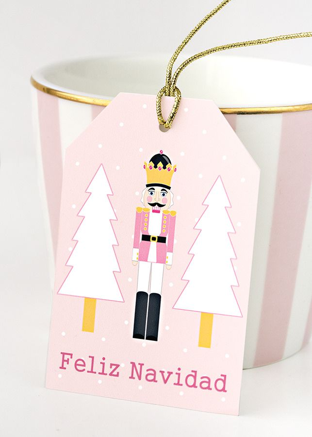 etiquetas imprimibles navidad | Wrapping Ideas | Pinterest ...