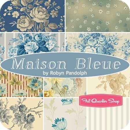 Maison Bleue Charm PackRobyn Pandolph for RJR Fabrics - Charm Packs & Squares | Fat Quarter Shop