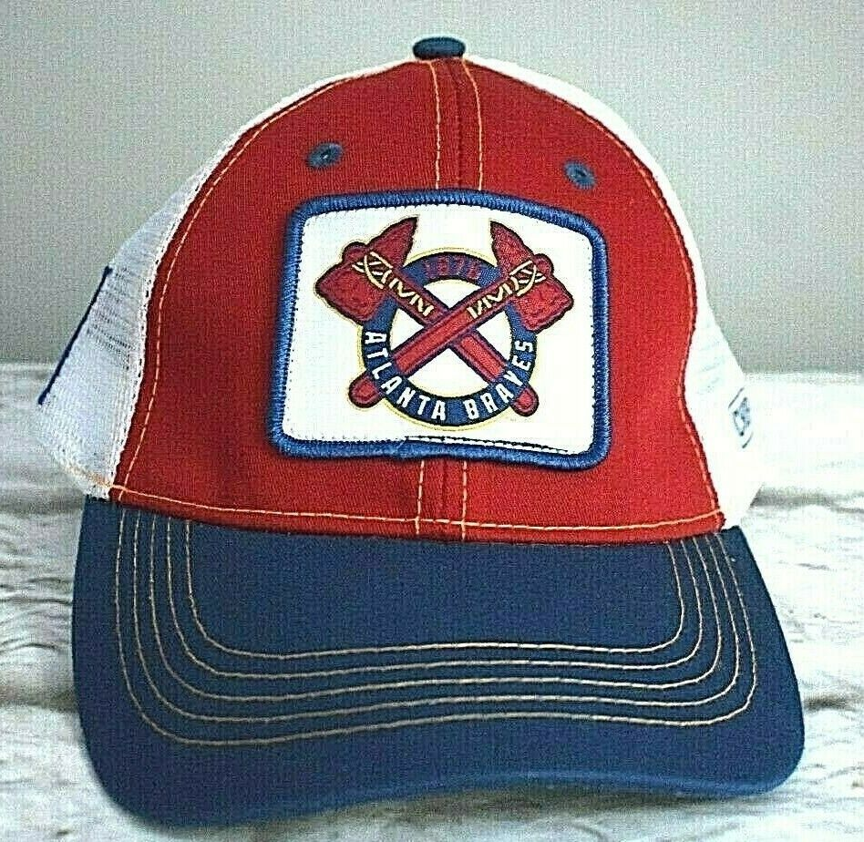Atlanta Braves Trucker Hat Ball Cap Chop On Napa Game Giveaway Baseball Snapback Ebay In 2020 Atlanta Braves Baseball Snapback Trucker Hat