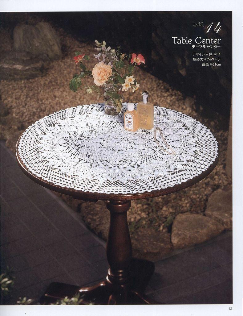 14_BOBBIE Crochet Table Topper (part 1 of 3) | ✂ Crochet - Lace ...