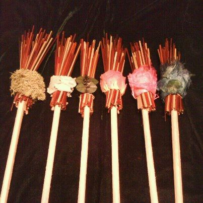 PENCIL BESOMS by EstysBroomCloset on Etsy, $5.00