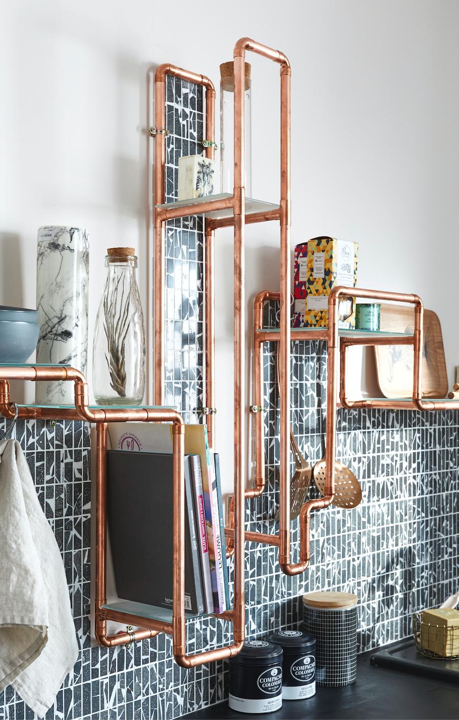 Recyclez vos tuyaux de cuivre en objets déco  Decoration cuivre