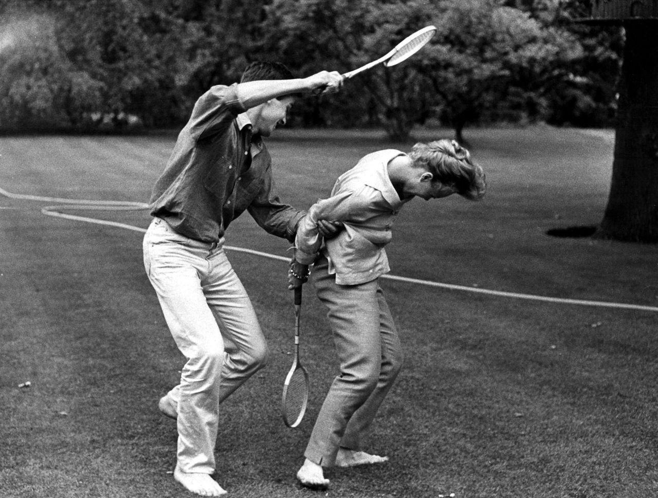 With Romy 1960 Alain Delon Romy Schneider Romy