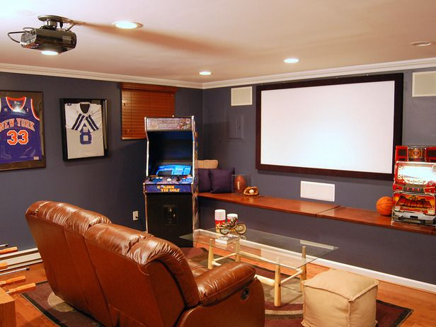 chillaxation man caves home improvement diy network on extraordinary affordable man cave garages ideas plan your dream garage id=21420