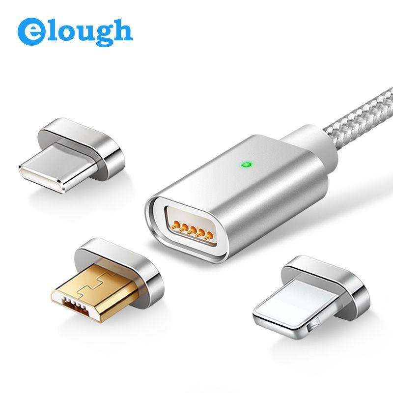 Elough E04 Magnetyczny Ładowarka USB Kabel Do Transmisji
