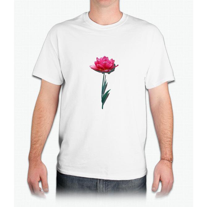 Pink Tulip - Mens T-Shirt