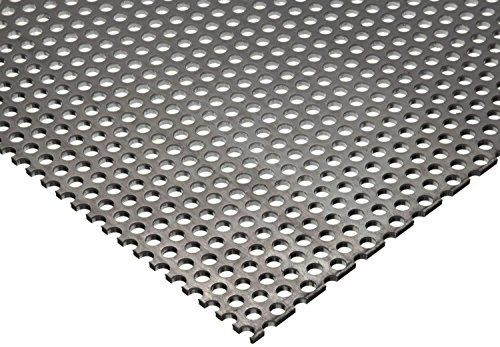 Online Metal Supply 304 Stainless Steel Perforated Sheet 035 20 Ga X 8 X 12 1 8 Holes 3 Stainless Steel Sheet Stainless Steel Types Perforated Metal