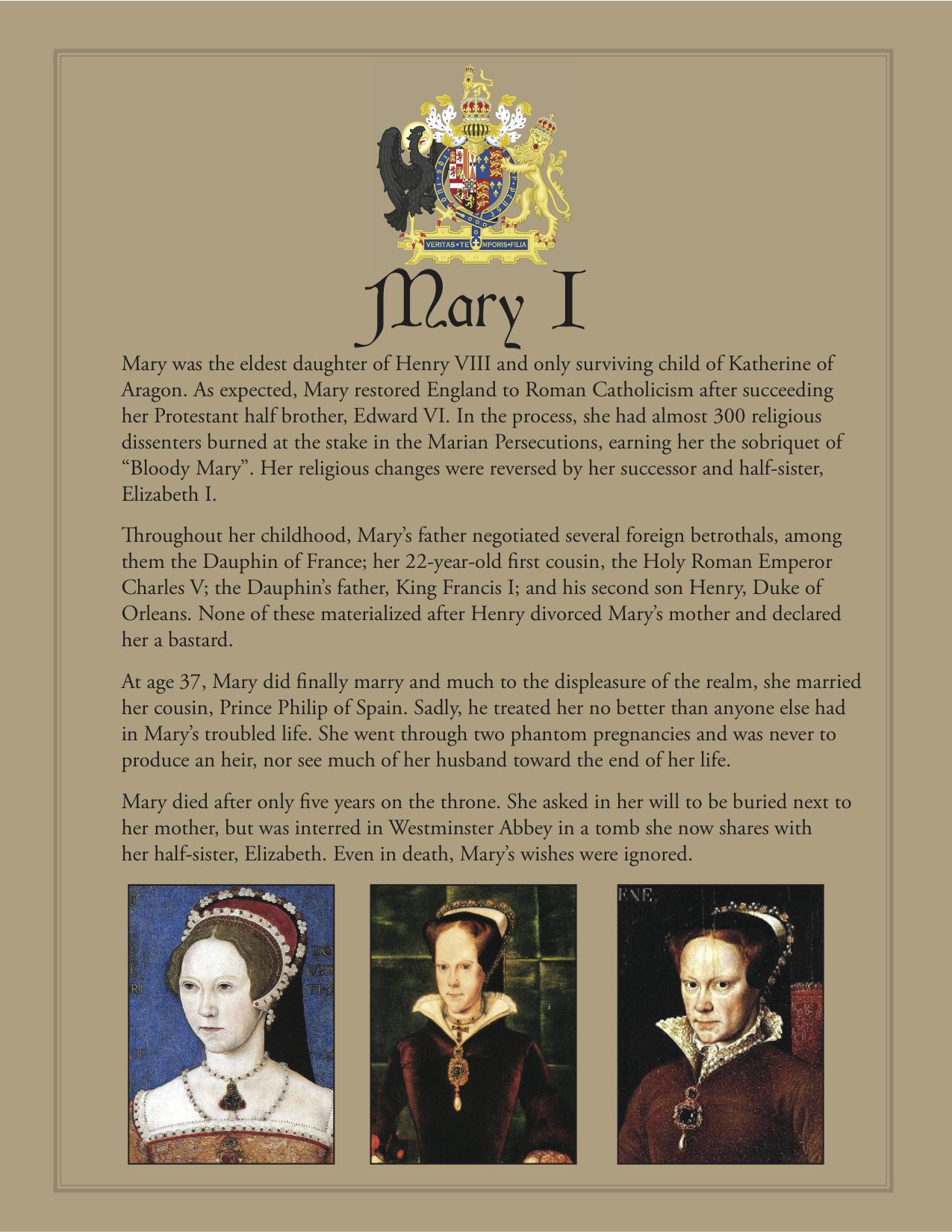 Photo of Mary I