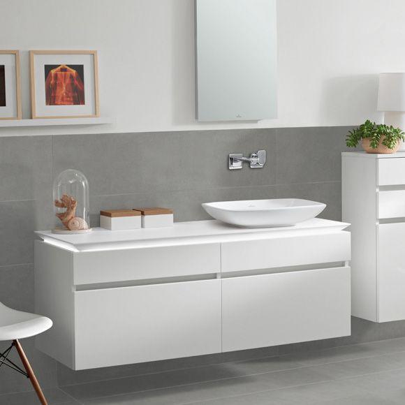 Afbeeldingsresultaat voor waschtisch unterschrank Badezimmer - badezimmer villeroy und boch