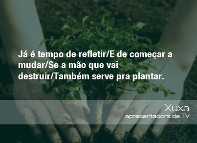 Frases Do Meio Ambiente Think Green Pinterest Environment