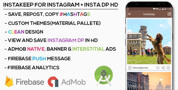 Premium Instagram Downloader + Instagram HD Profile Picture