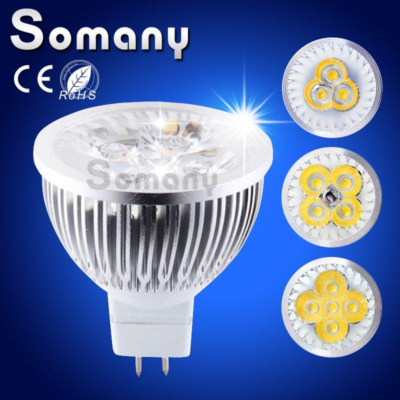 reputable site bae0b 37977 MR16 12V LED Spot Down Light Lamp 9W 12W 15W AC DC LED ...