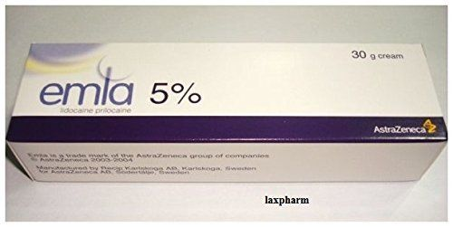 Emla Numbing Anesthetic Cream 5 Cream 30g Tattoo Anesthetic Derma Pen Personal Care