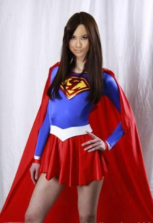 superheroine Wwe as aj diva lee