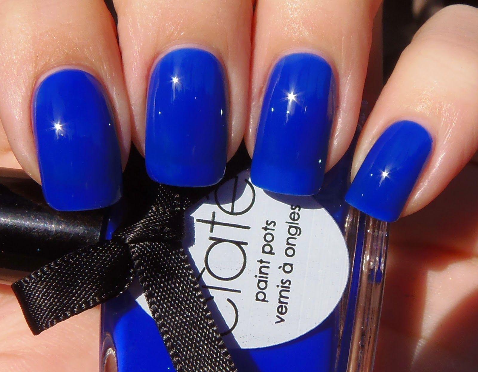 Mani blue teen
