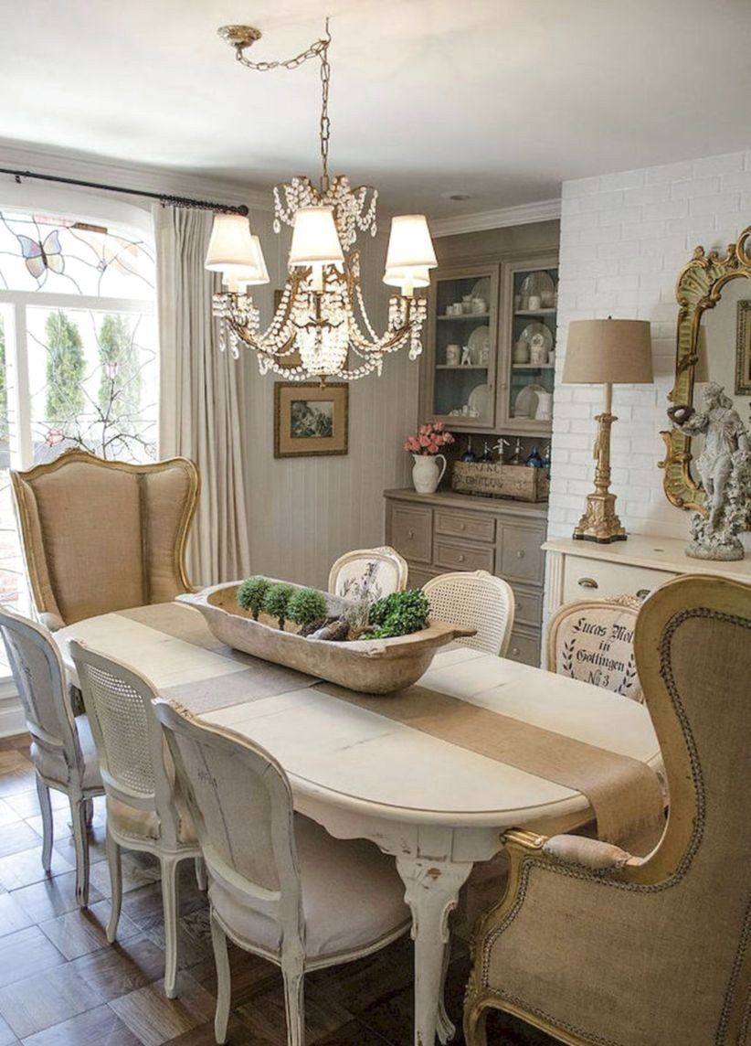 country style dining room ideas | 45+ AMAZING ELEGAN FRENCH COUNTRY DINING ROOM DESIGN IDEAS ...
