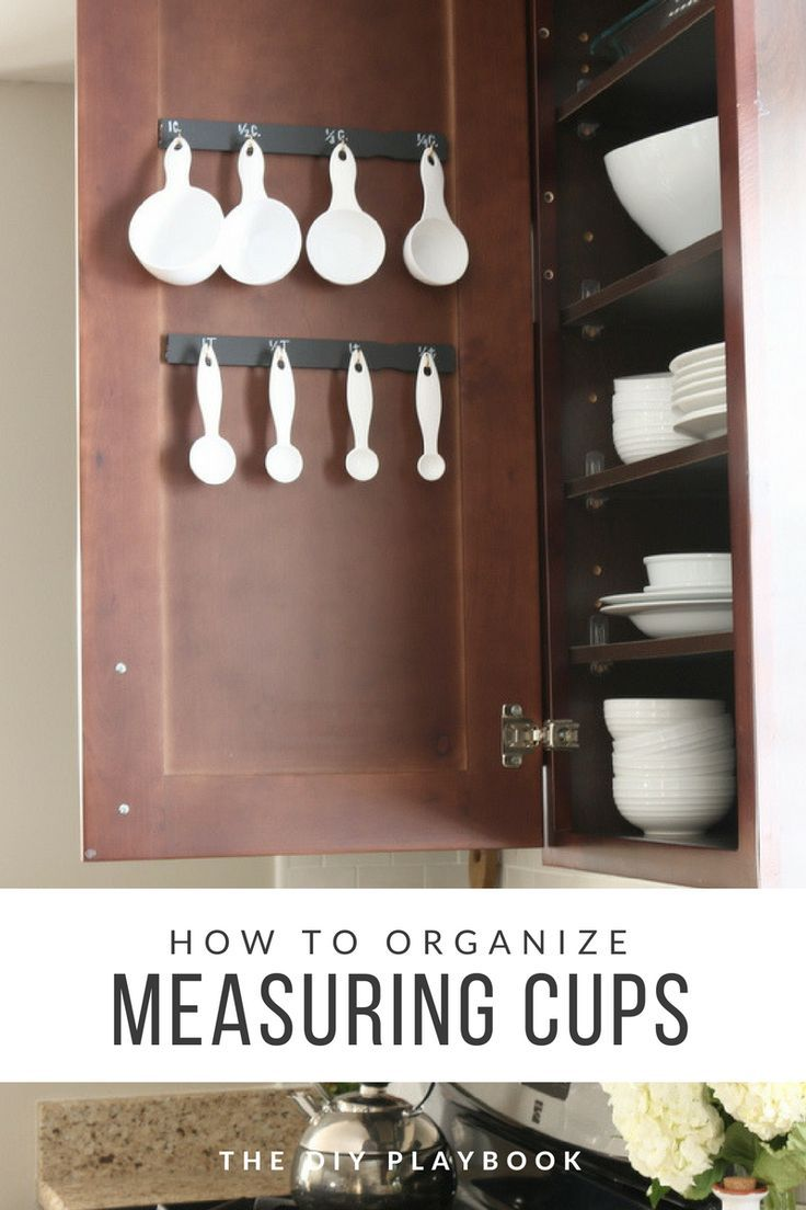 How To Organize Measuring Cups And Spoons With Images