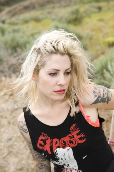 Brody Dalle Poses For A Portrait Backstage On Day 3 Of