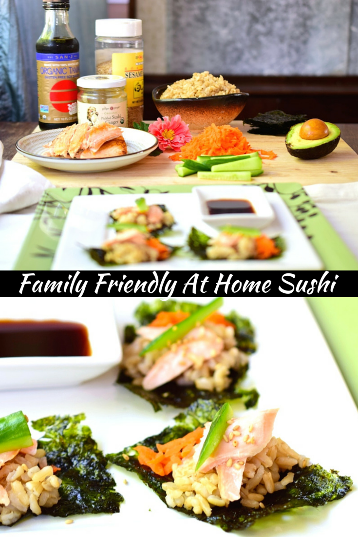 Family Fun Easy Sushi Bar Is One Of My Favorite Traditions Have Building Your Own And Enjoy Eating Healthy Tasty Food Together