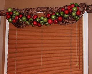 Make your own Ornament Garland for less than 20 bucks!