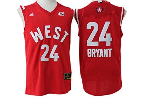 52f6e3b71be Lakers 24 Kobe Bryant Red 2016 NBA All Star West Jersey Size-XXL - http