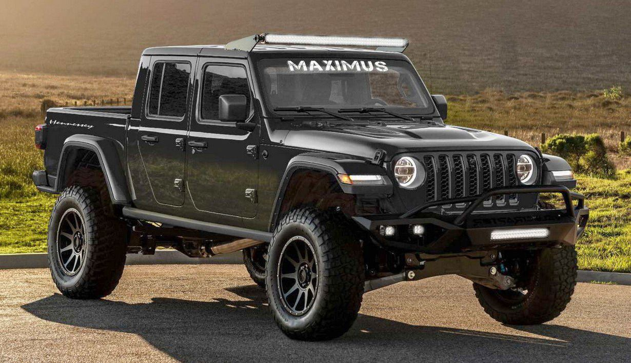 Hennessey Maximus 1000 2019 A Jeep Gladiator Powered By A 1000