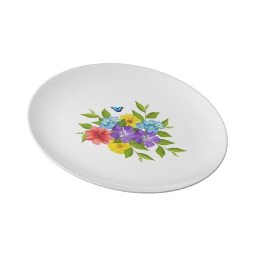$37.45 Spring Flowers Plate