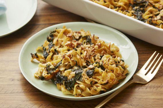 Sunchoke & Egg Noodle Casserole with Kale & Mornay Sauce ...
