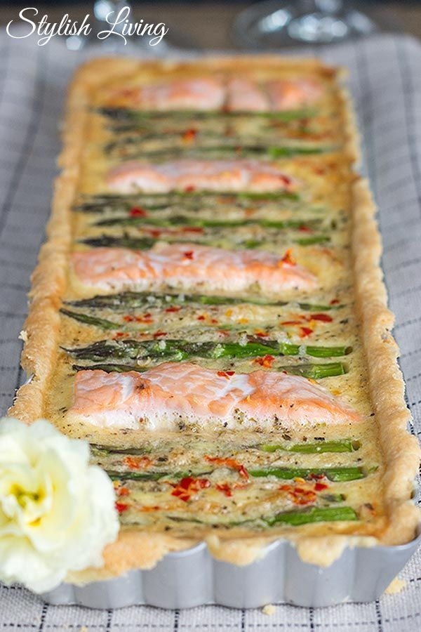 Spargel Lachs Tarte Und Dazu Blanchet Sponsored Post Food