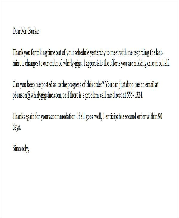 Thank You Letter Word Templates Free Amp Premium Sample For
