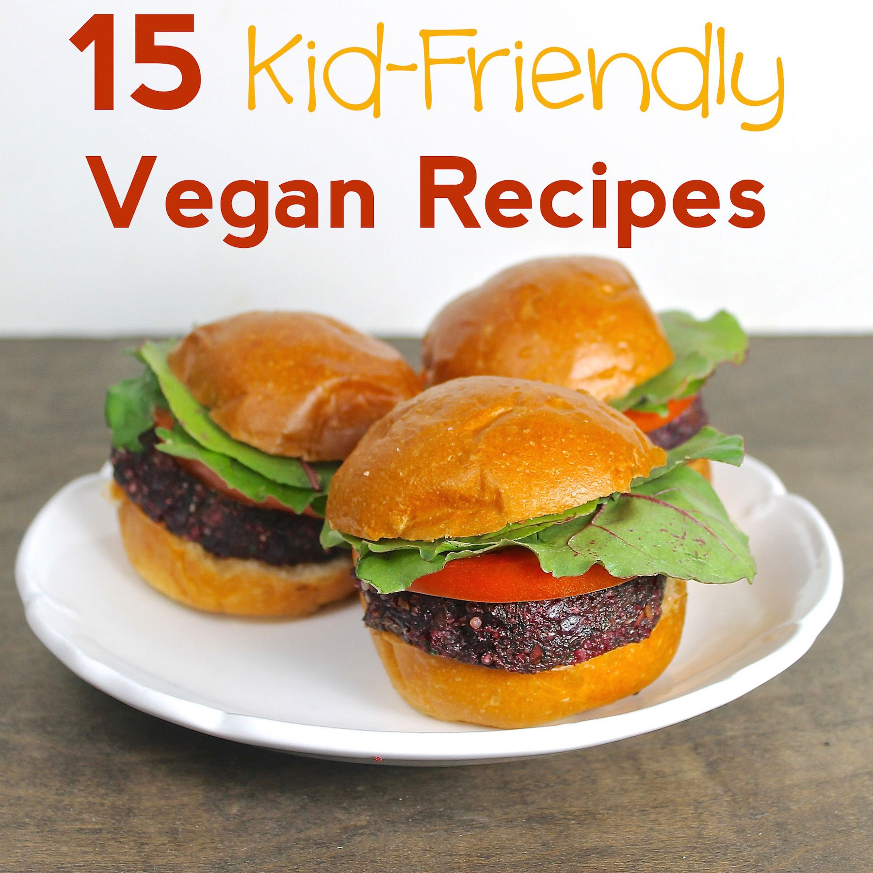 Vegan kid-friendly recipes loved by readers' children, including many gluten-free and low-carb options.