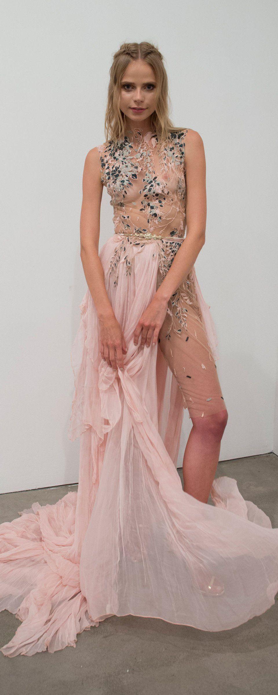 Lujo Vestido De Boda Réplica Modelo - Colección de Vestidos de Boda ...