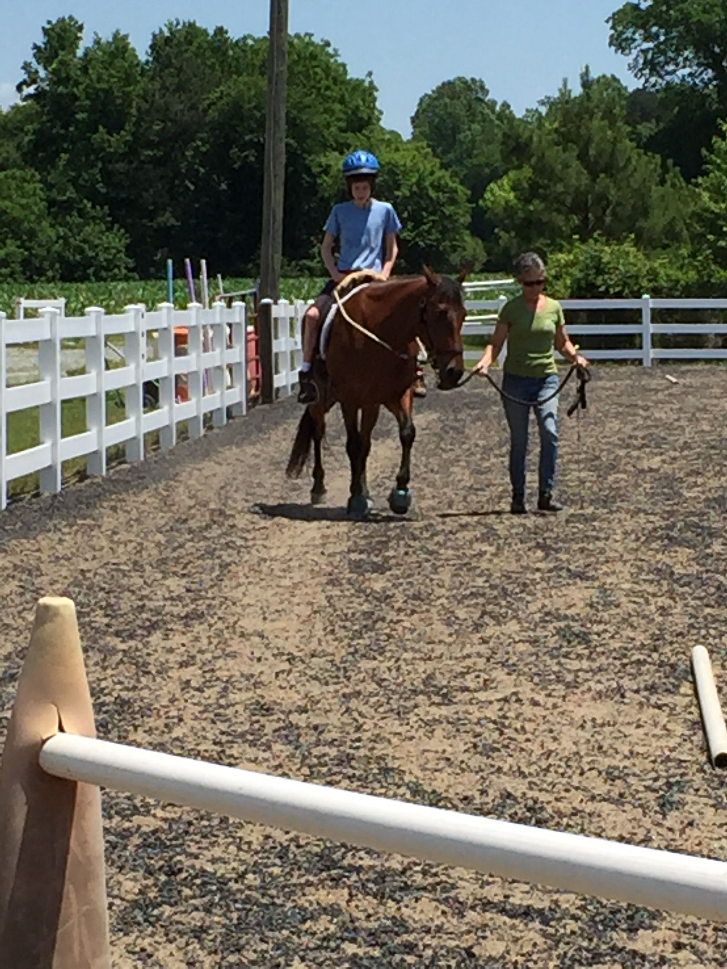 Dream Catchers Therapeutic Riding So proud of my little man Can now ride without a side walker 13