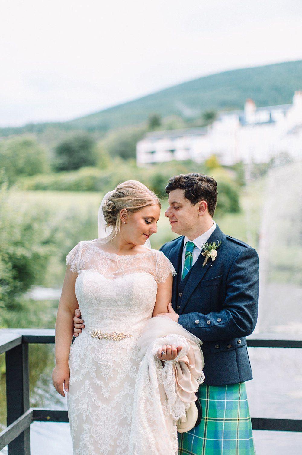 Fine Art Wedding Photographers Glasgow Bride The Gibsons Elegant