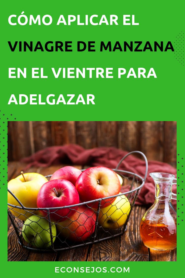 Vinagre de manzana para adelgazar abdomen