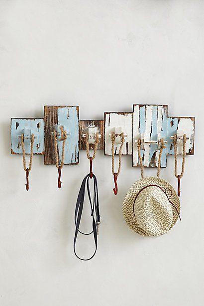 Stylish Hooks 30 vintage diy coat hooks | diy coat hooks, vintage diy and  coat